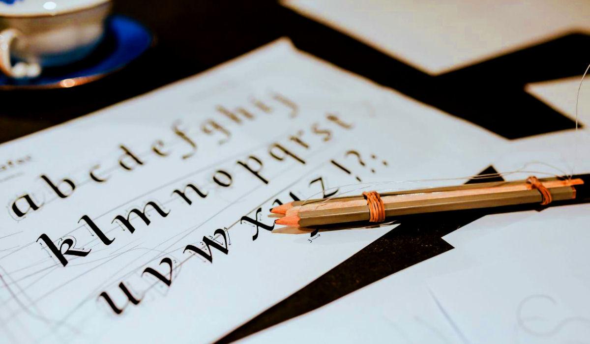 sierysuje.pl blog kaligrafia