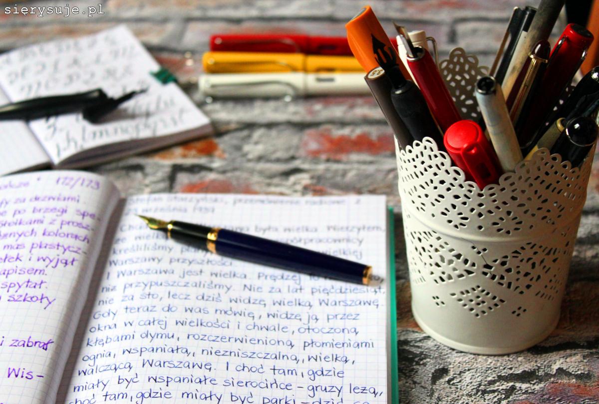 sierysuje.pl piękne pismo ręczne