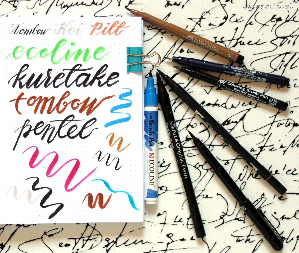sierysuje.pl najlepszy brush pen