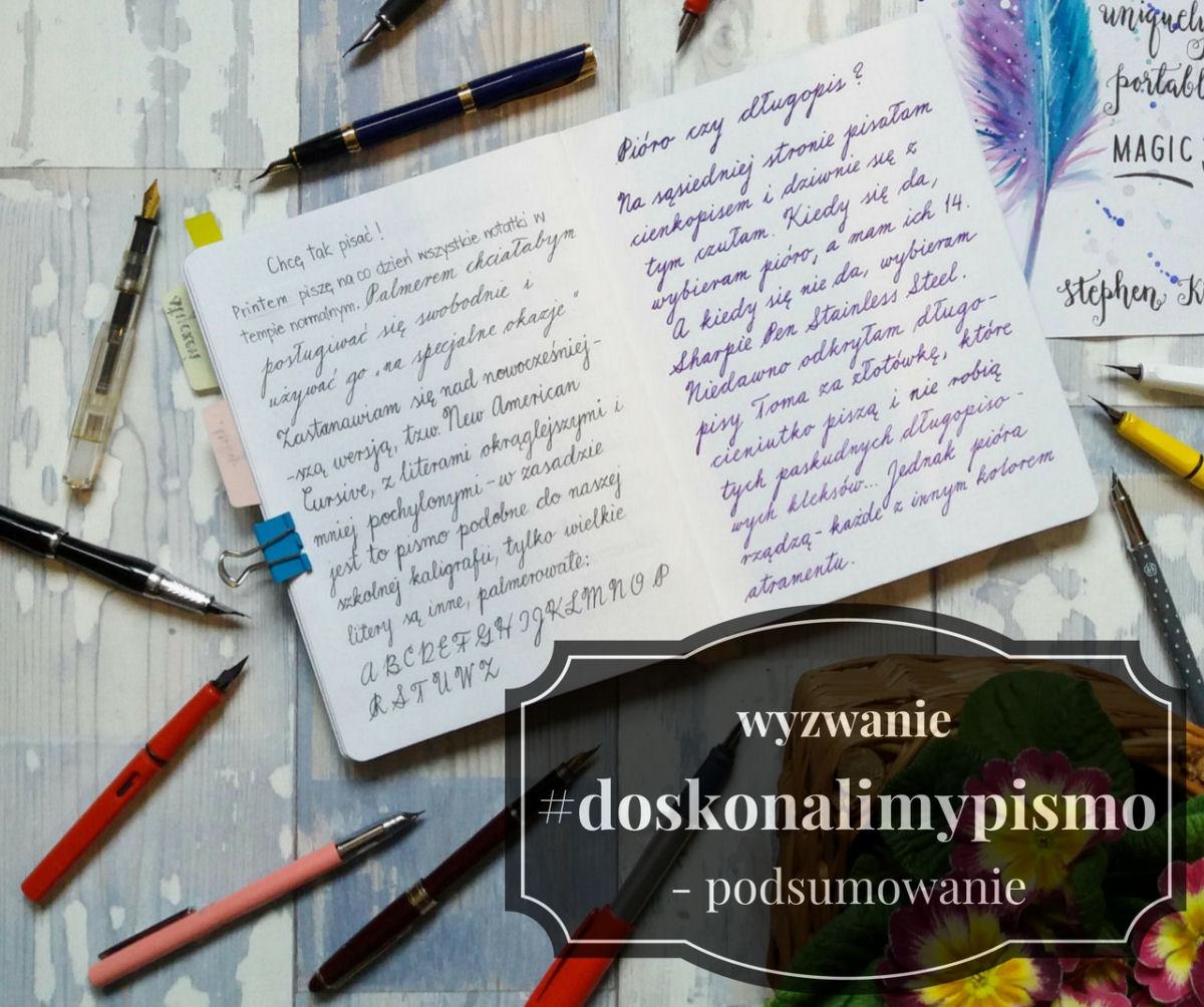 sierysuje.pl podsumowanie wyzwania #doskonalimypismo