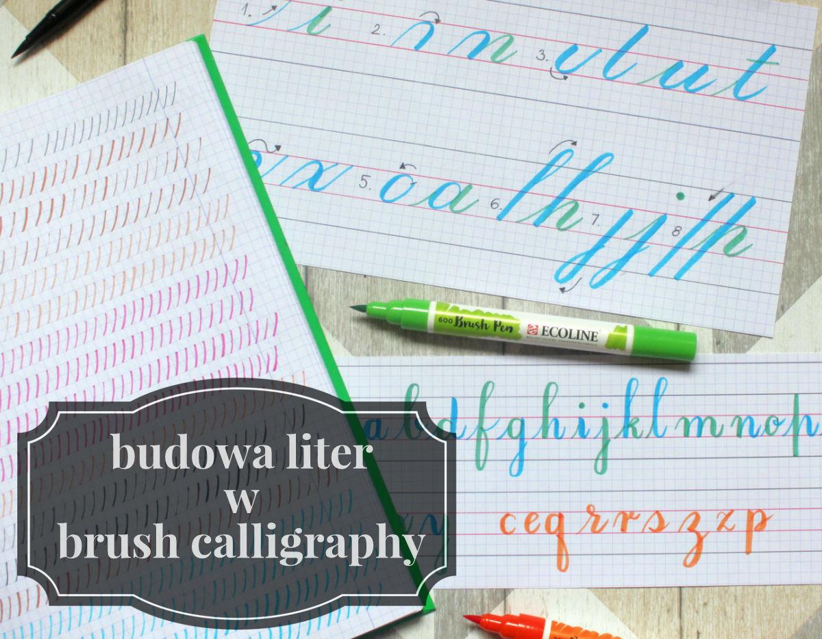 sierysuje.pl brush lettering początki ćwiczenia
