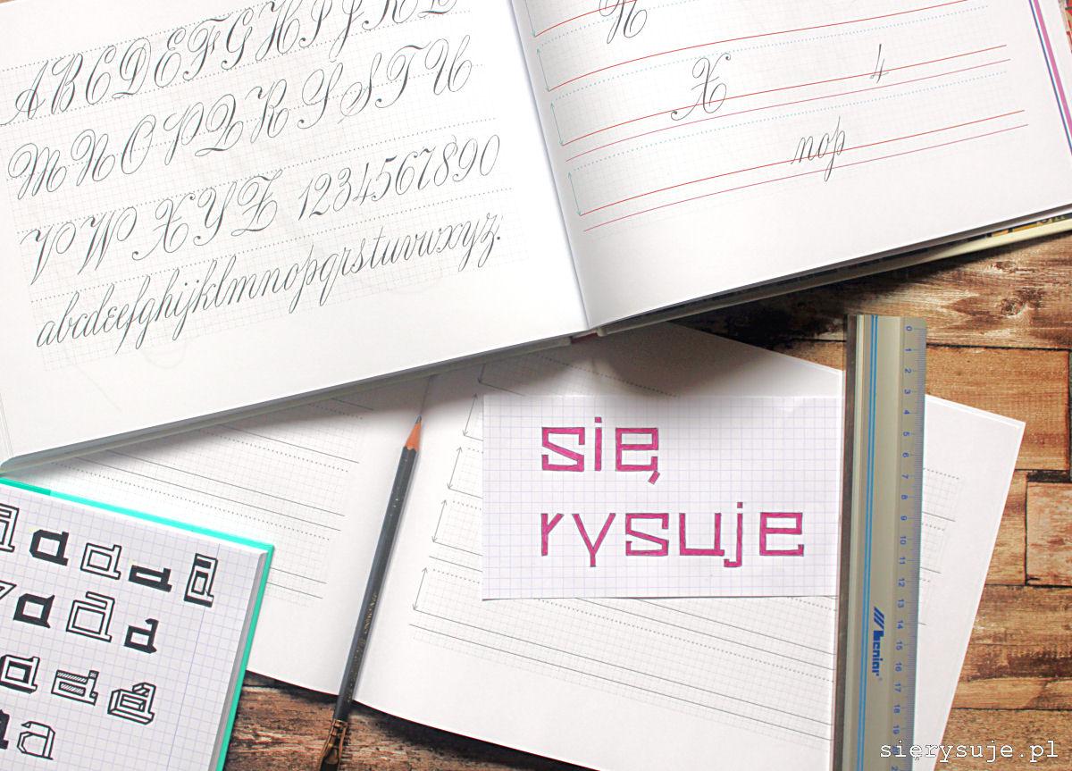 sierysje.pl liternictwo litery alfabety