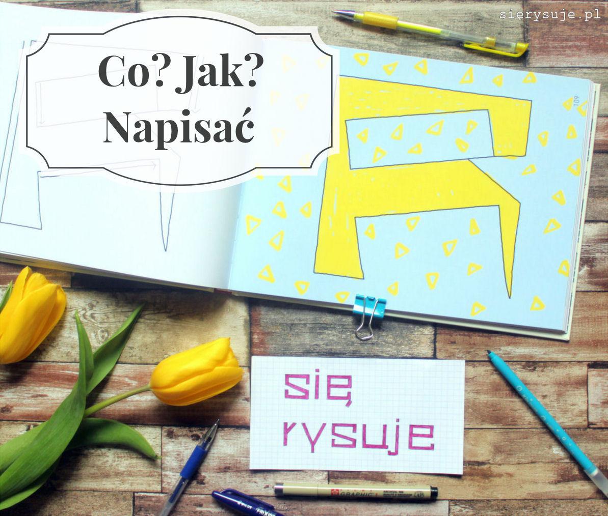 sierysuje.pl książka lettering liternictwo