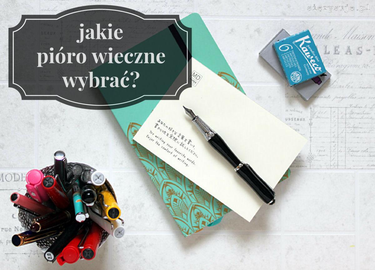 sierysuje.pl pióro wieczne dla początkujących