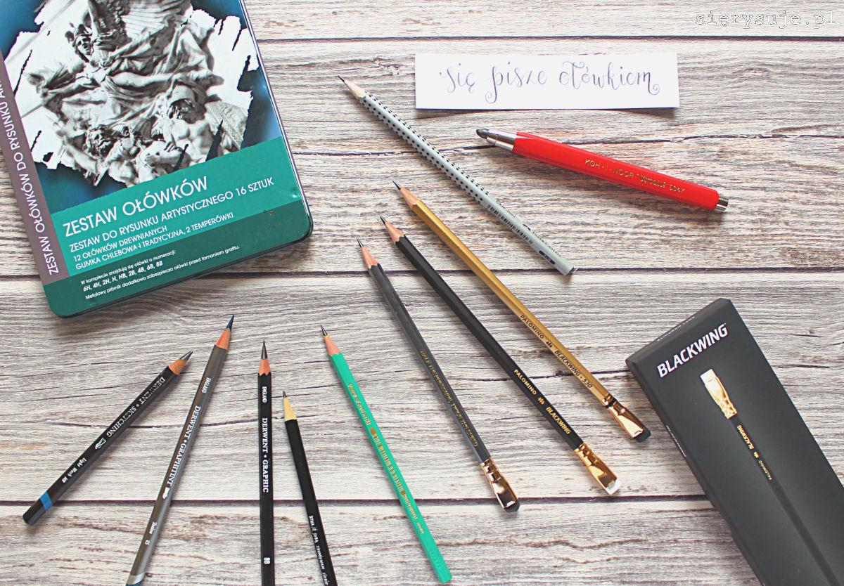 sierysuje.pl ołówek ołówki