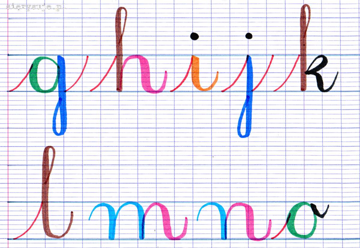sierysuje.pl kaligrafowanie brush pen