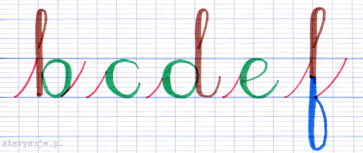 sierysuje.pl kaligrafowanie brush penami