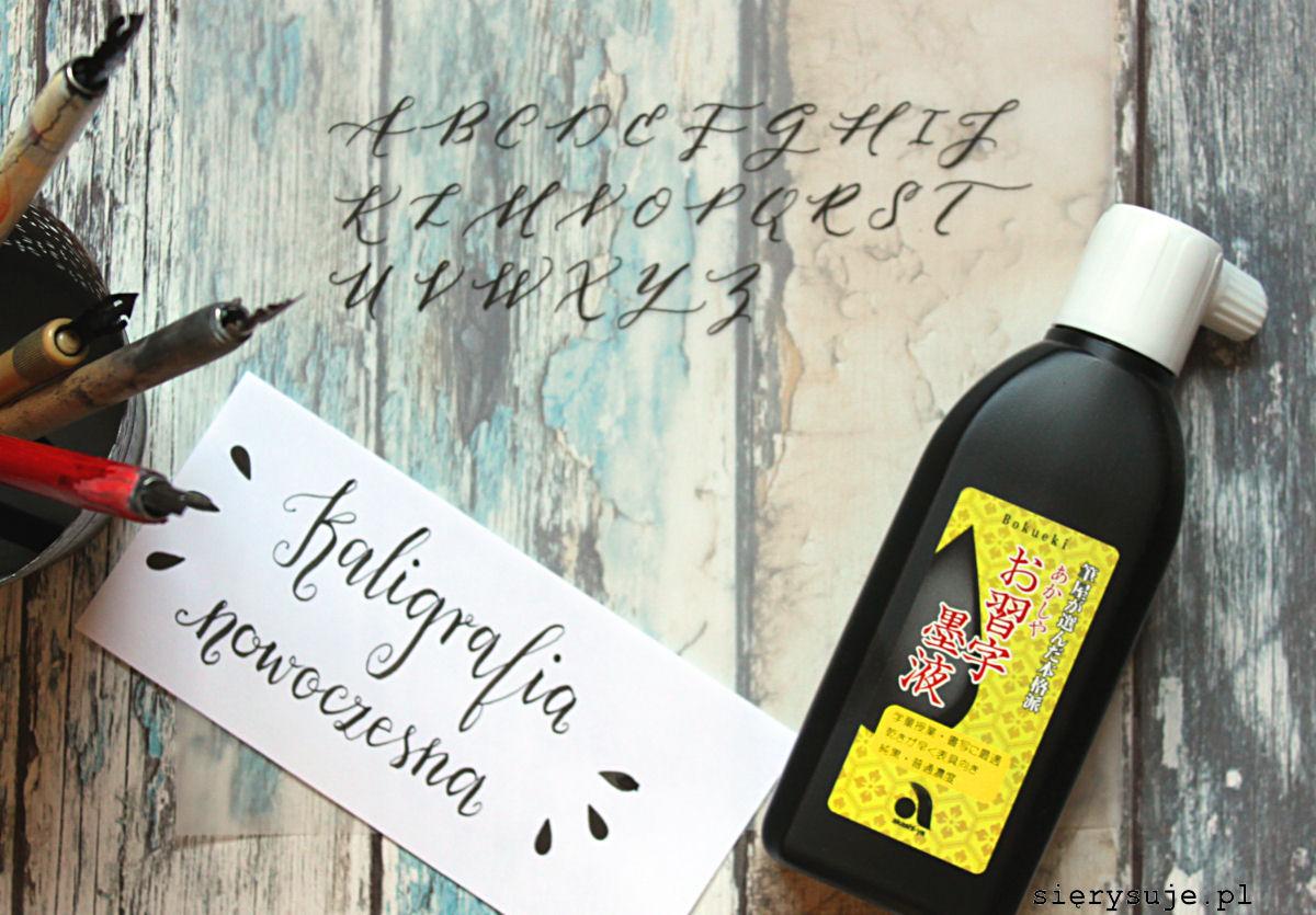sierysuje.pl blog kaligraficzny nowoczesna kaligrafia
