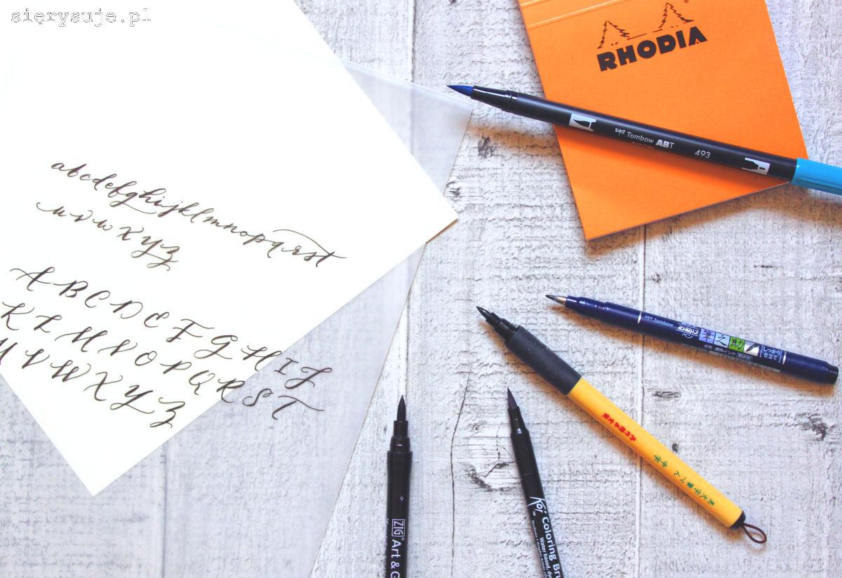 sierysuje.pl papier do kaligrafii