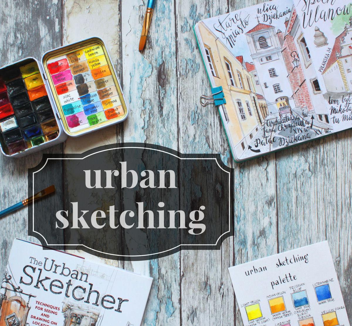 sierysuje.pl urban sketching miejskie rysowanie