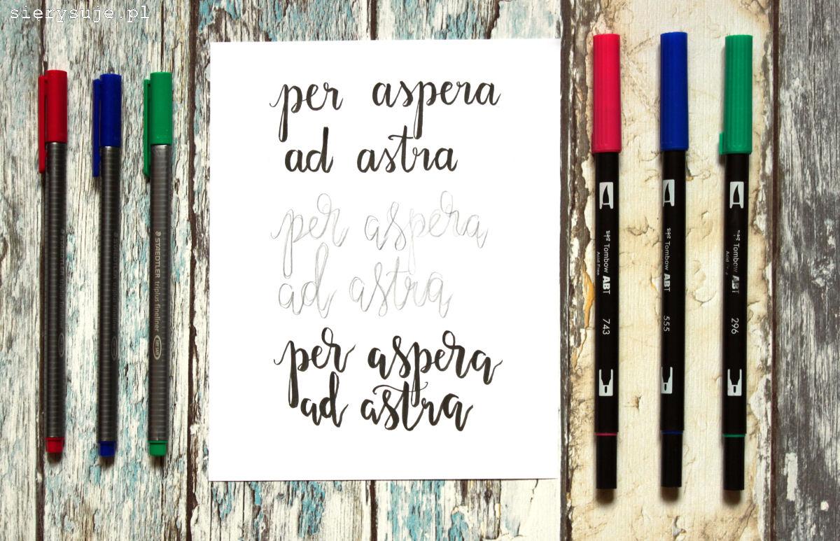 sięrysuje.pl blog o kaligrafii