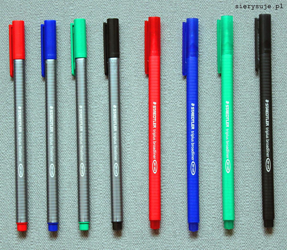 sierysuje.pl kolorowe cienkopisy