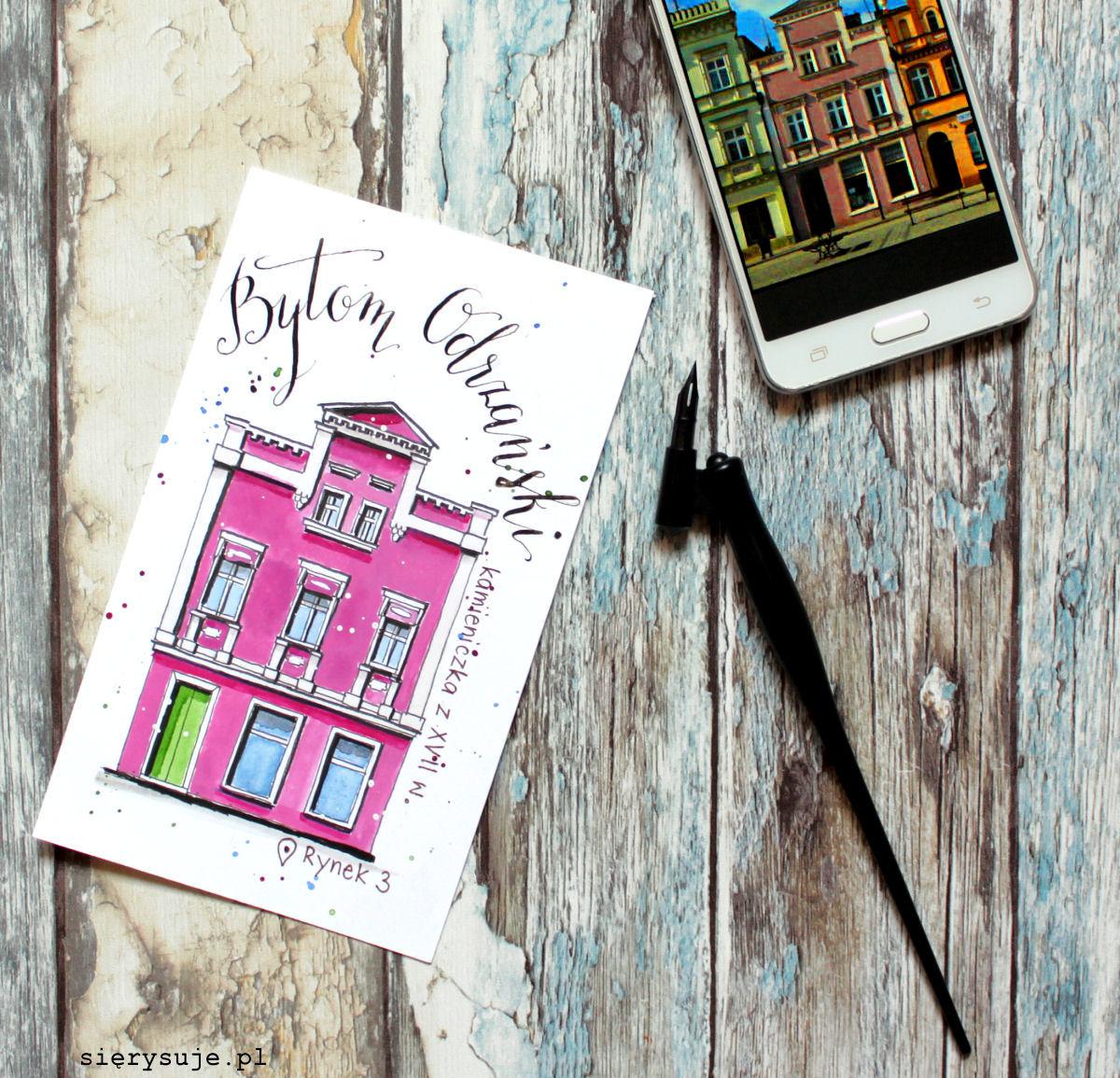 sierysuje.pl jak narysować budynek urban sketching