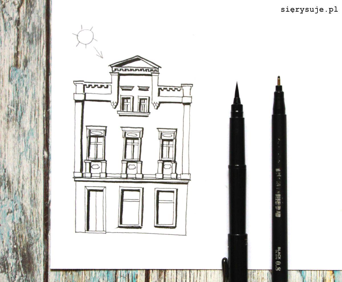 sierysuje.pl jak narysować budynek