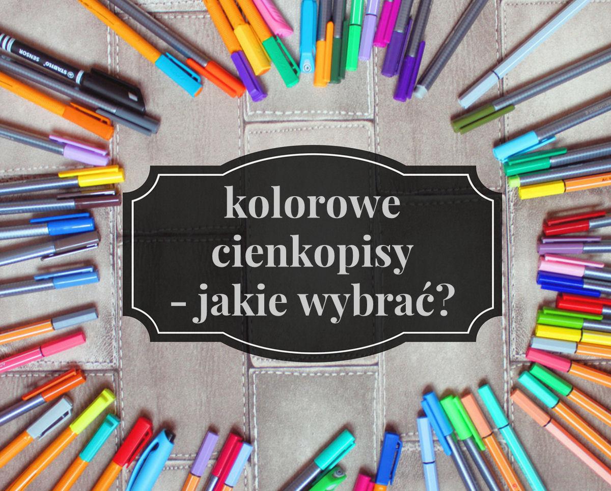 sierysuje.pl kolorowe cienkopisy do pisania i rysowania