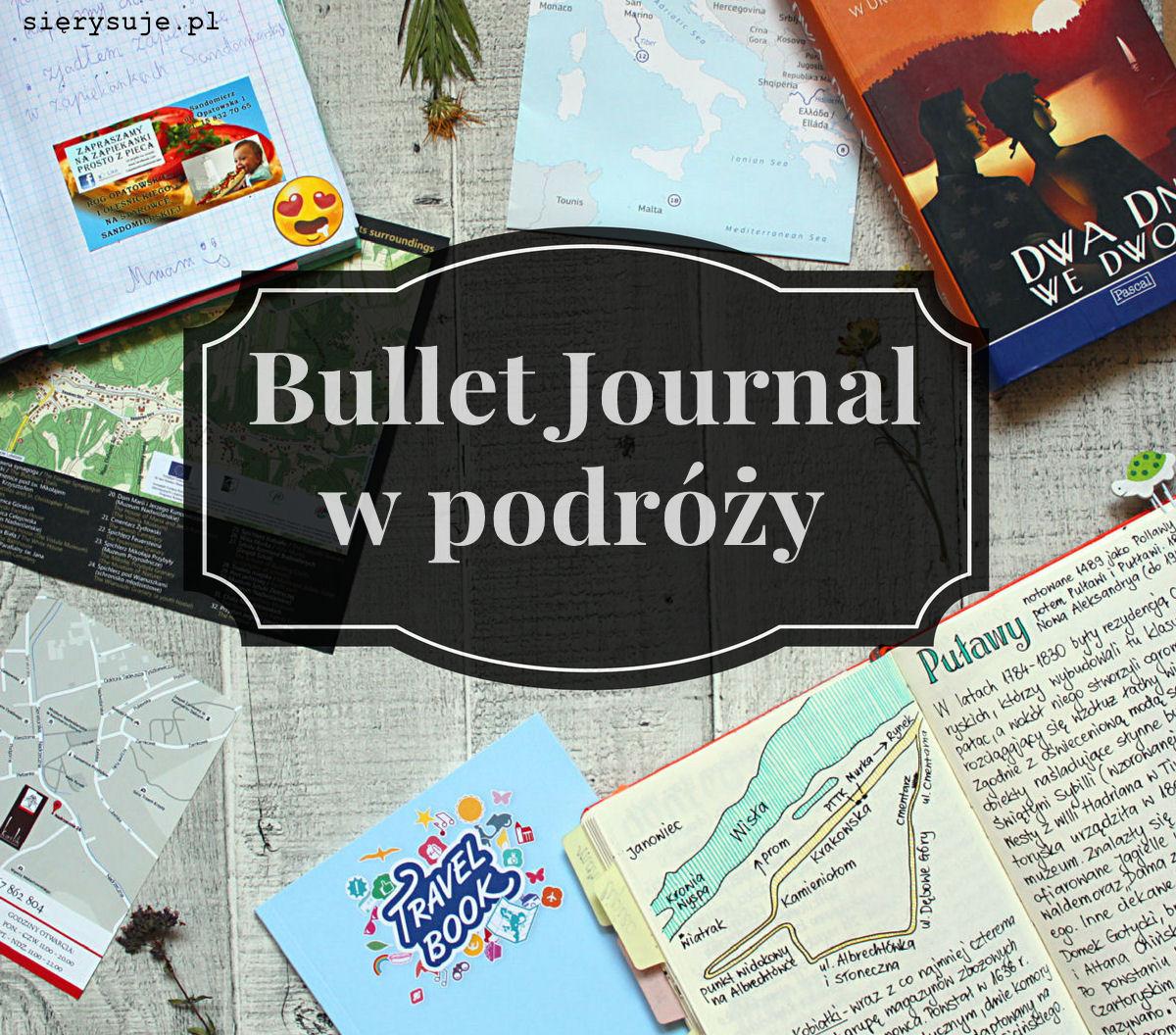 sierysuje.pl bullet journal podróż wakacje