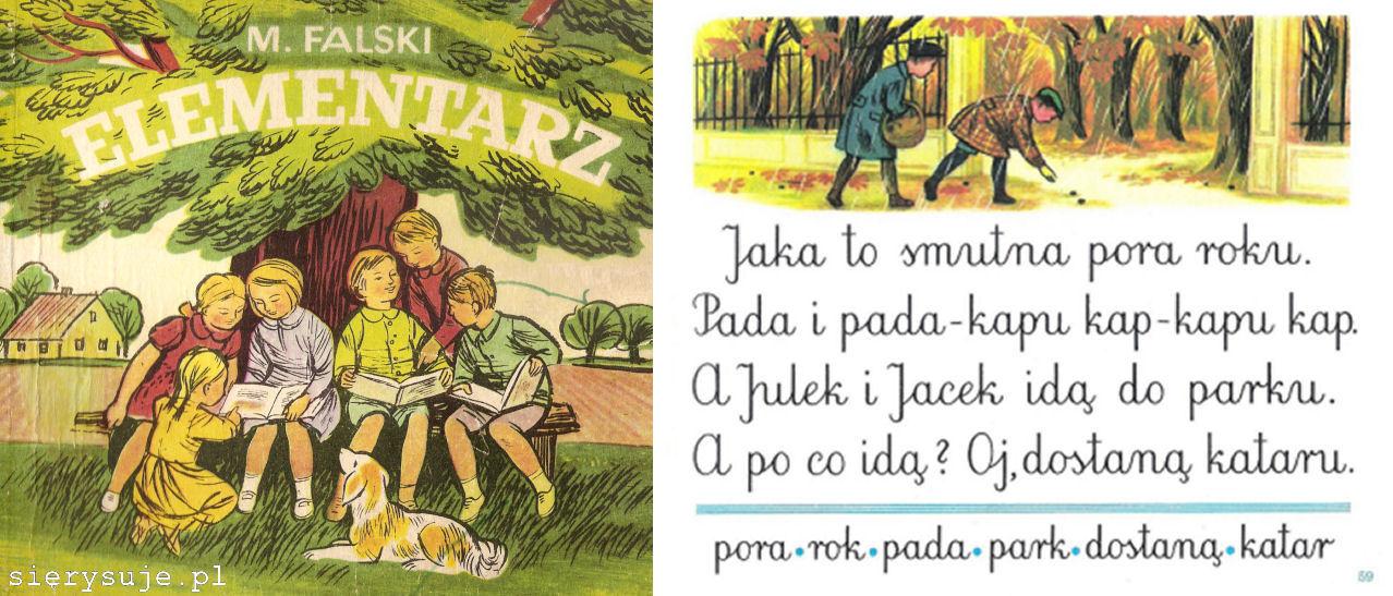 sierysuje.pl pismo szkolne elementarzowe