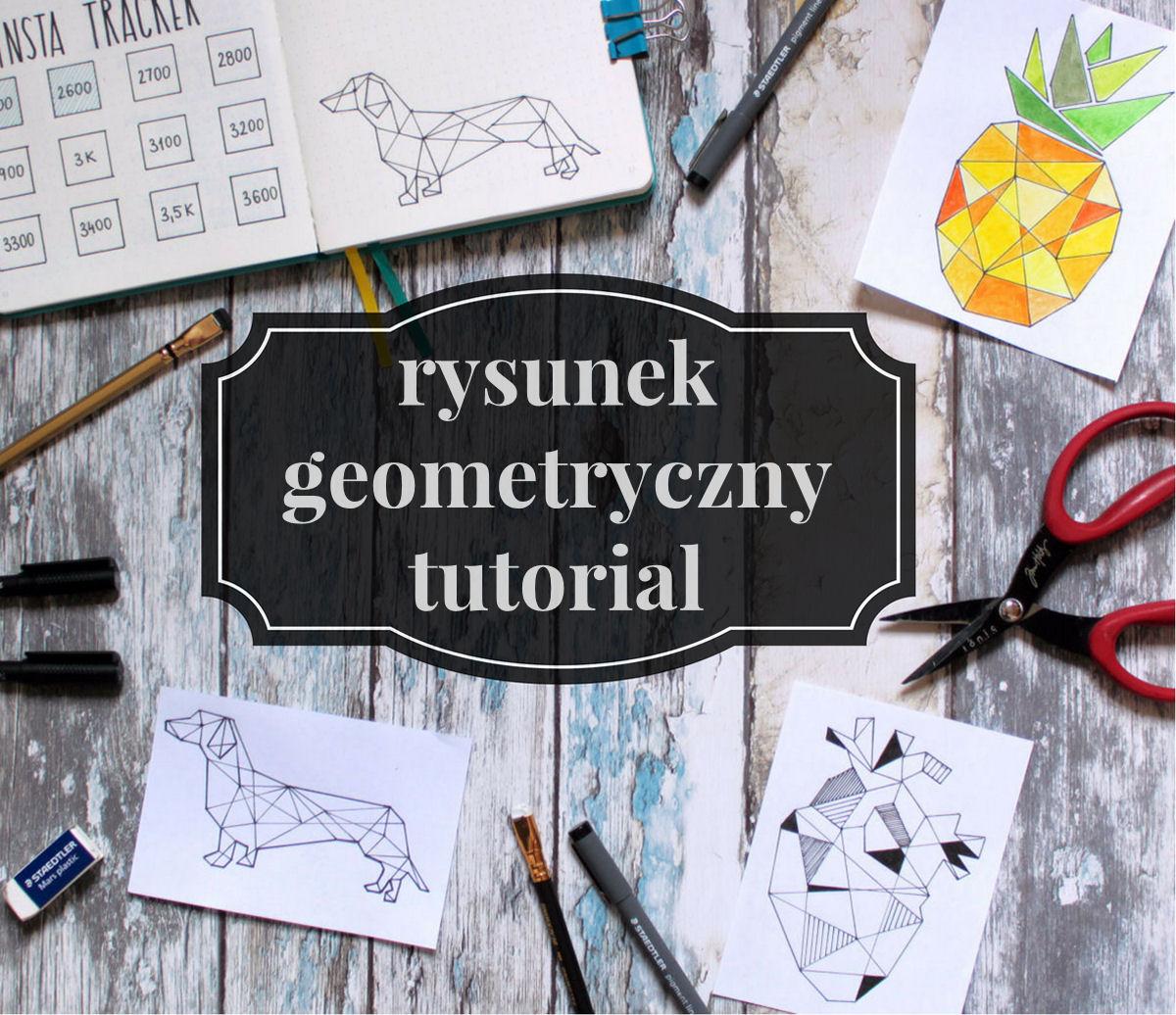 sierysuje.pl blog o rysowaniu rysunek geometryczny tutorial