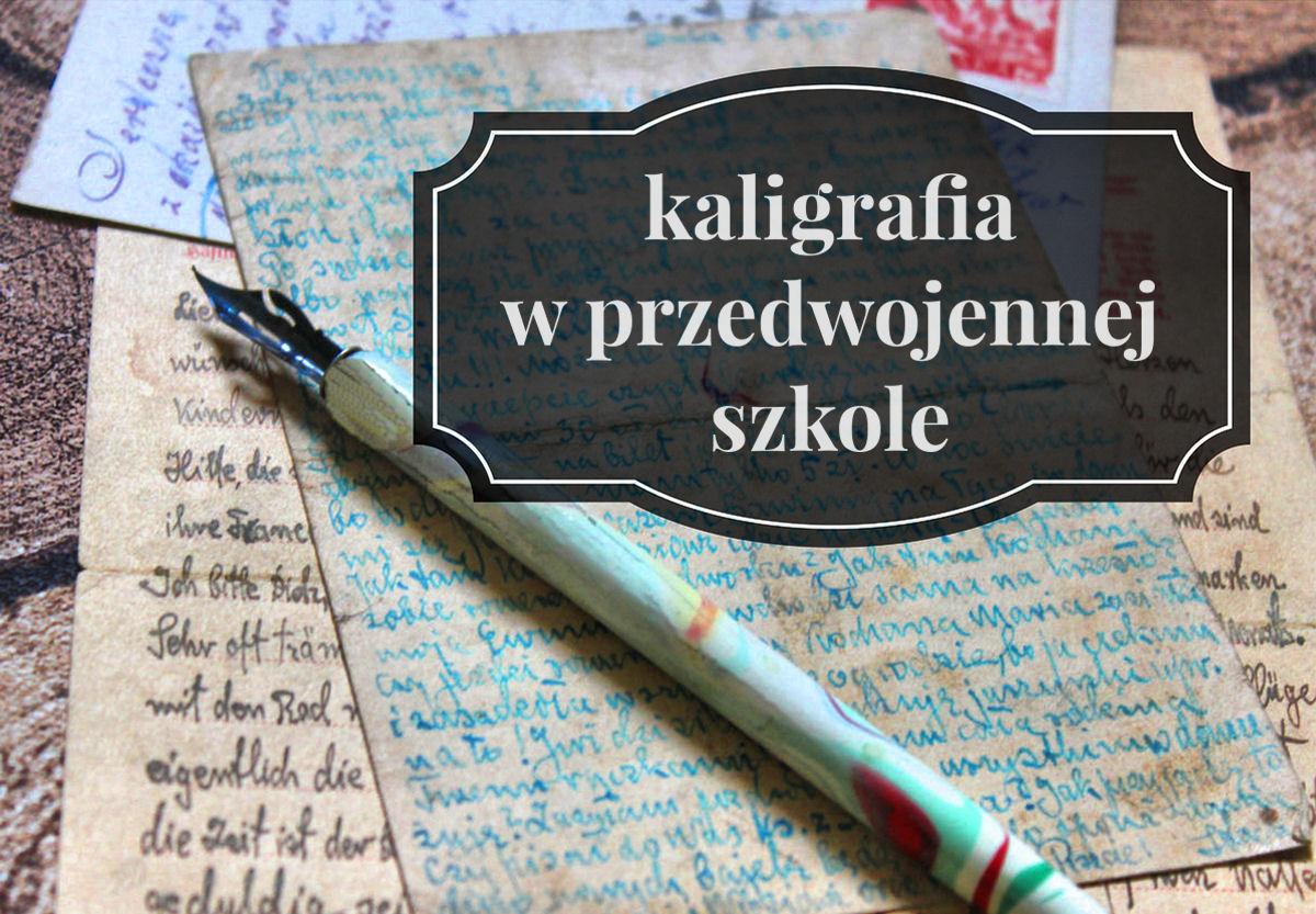 sierysuje.pl kaligrafia przedwojenna
