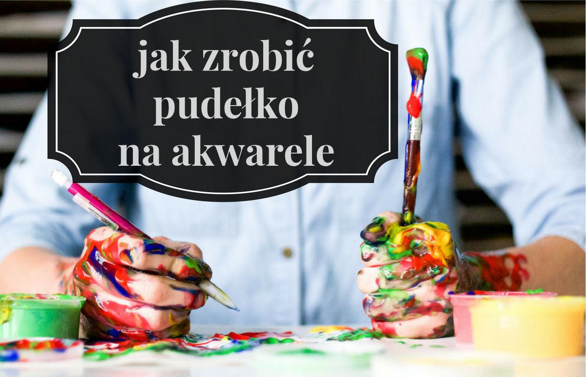 sierysuje.pl pudełko na akwarele tutorial
