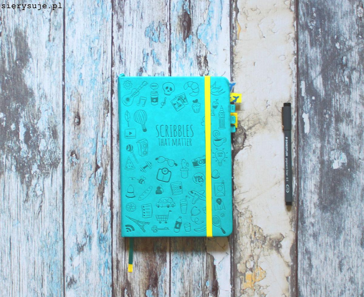 sierysuje.pl notatnik minimalizm