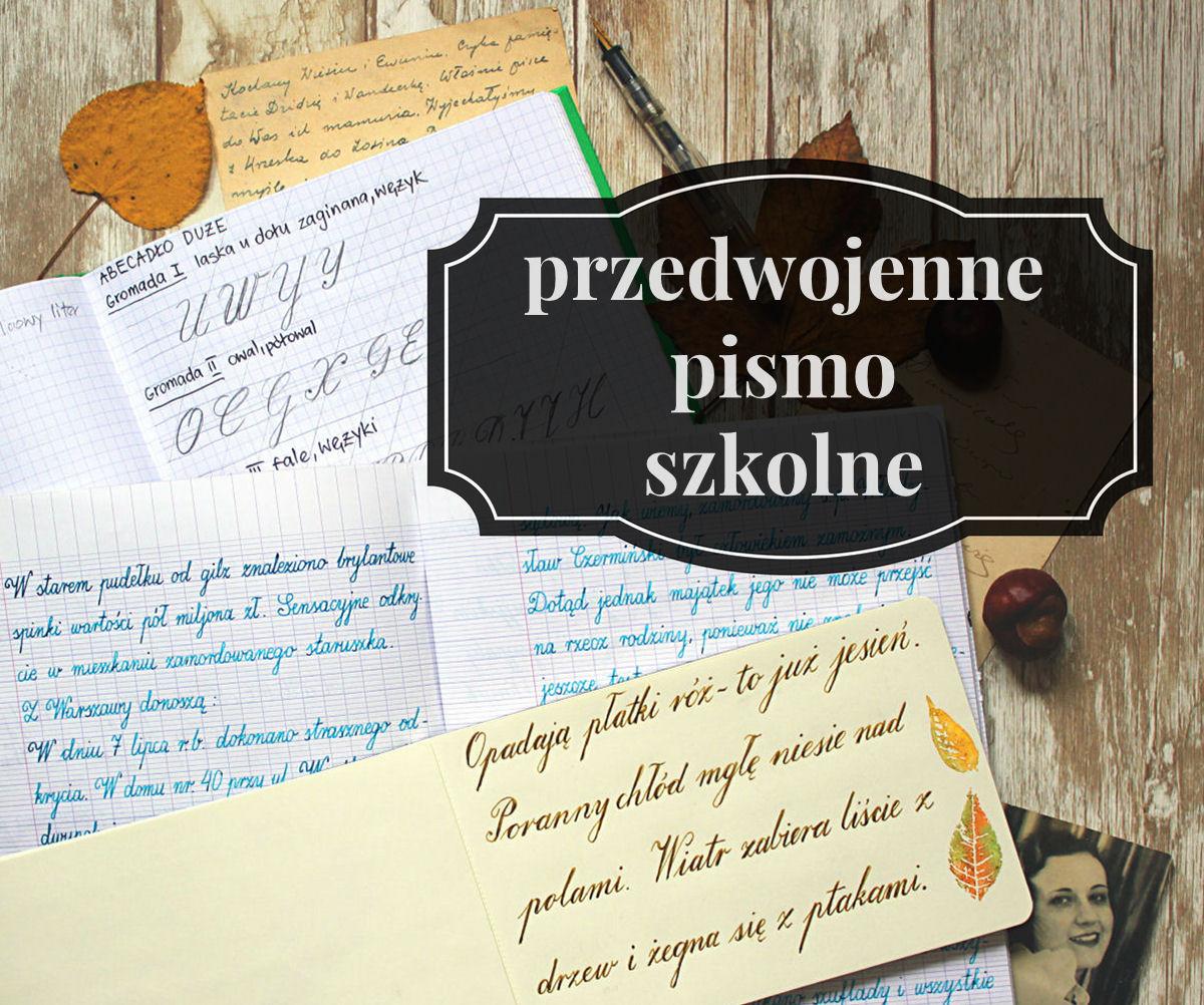 sierysuje.pl blog o kaligrafii dawne pismo