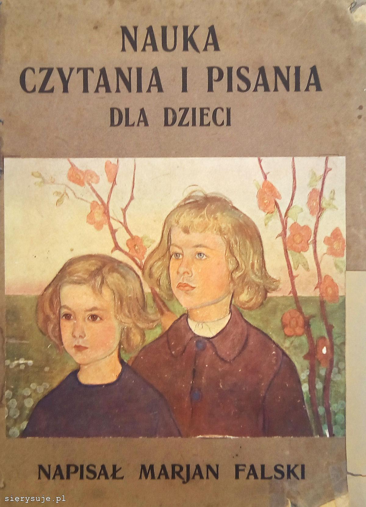 sierysuje.pl elementarz Mariana Falskiego pierwsze wydanie