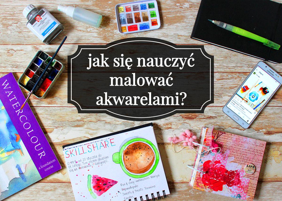 sierysuje.pl jak malować akwarelami
