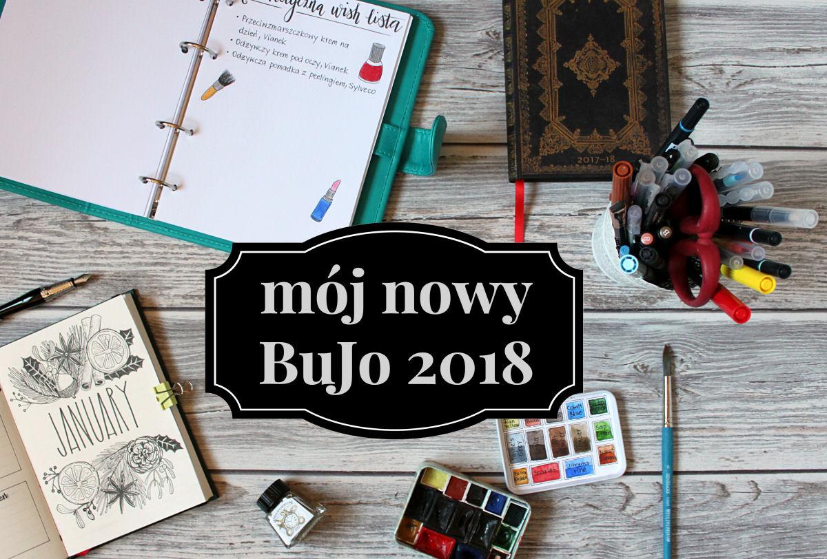 sierysuje.pl nowy bujo bullet journal 2018