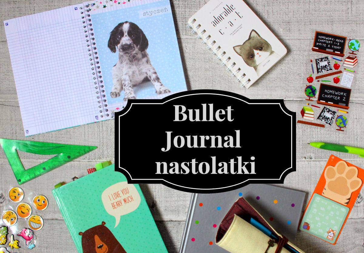 sierysuje.pl bullet journal nastolatki bujo