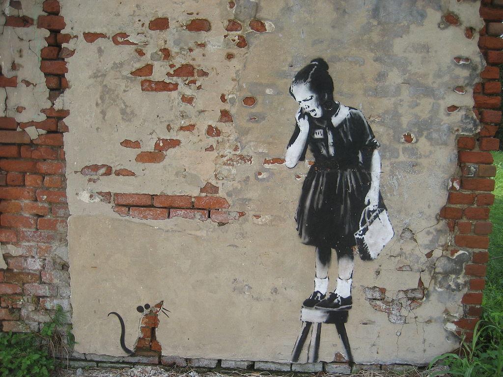 sierysuje.pl blog kreatywny grafiti Banksy