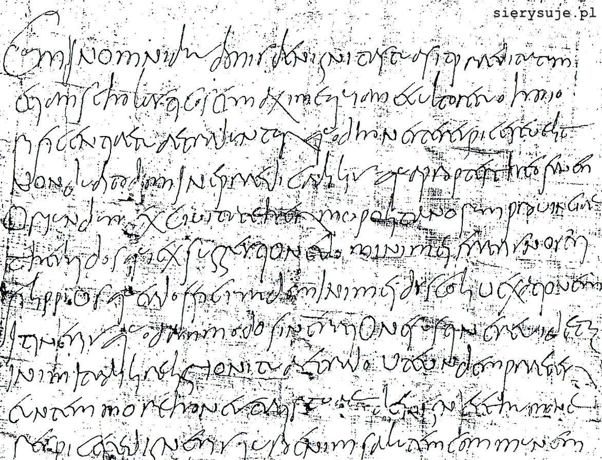 sierysuje.pl kursywa pismo kaligrafia