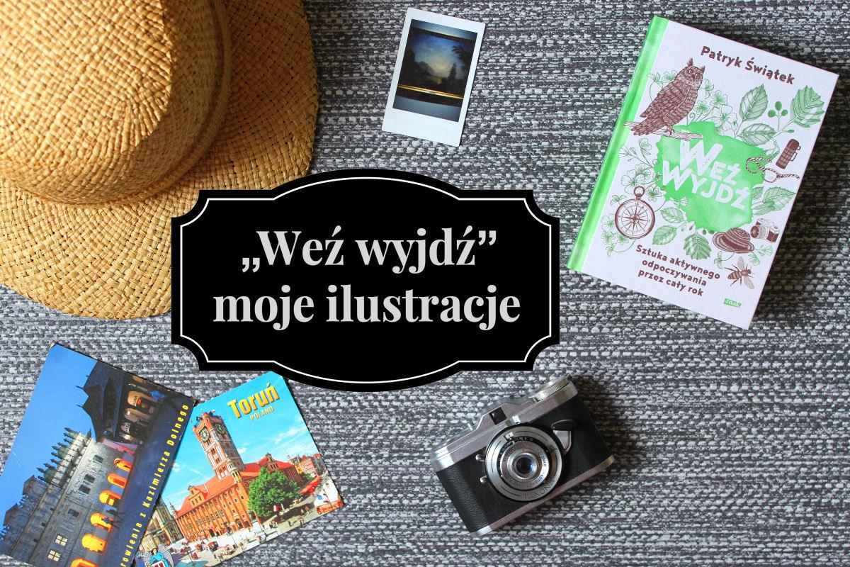 sierysuje.pl książka Weź wyjdź rysunki Agata Kafarska
