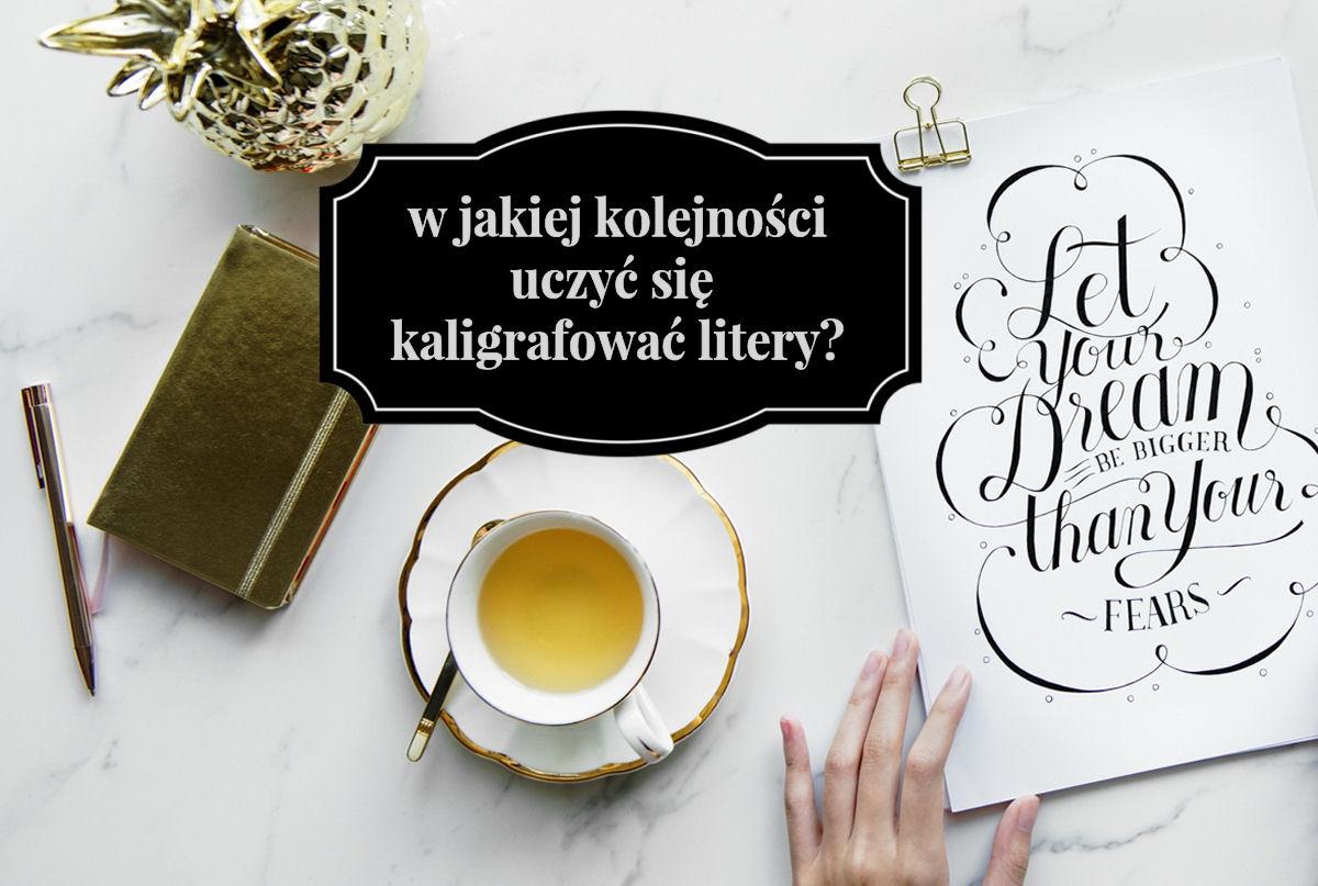 sierysuje.pl kaligrafia jak się uczyć