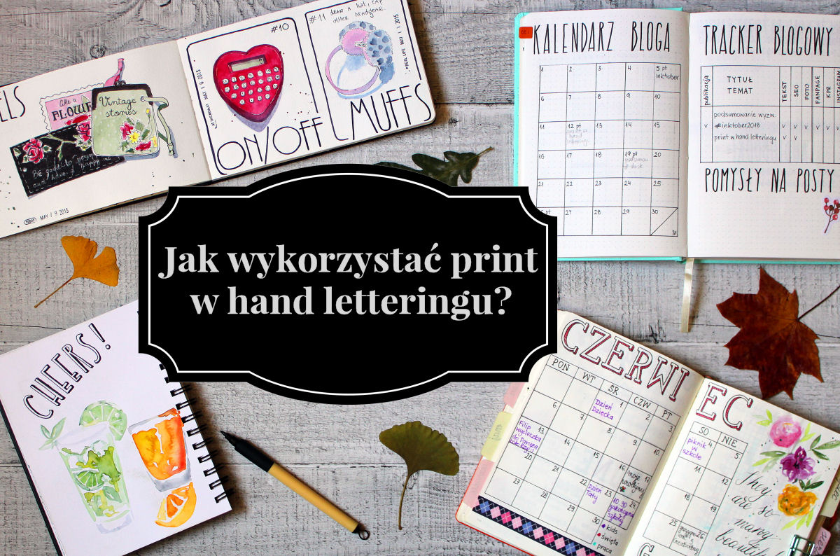 sierysuje.pl print w hand letteringu