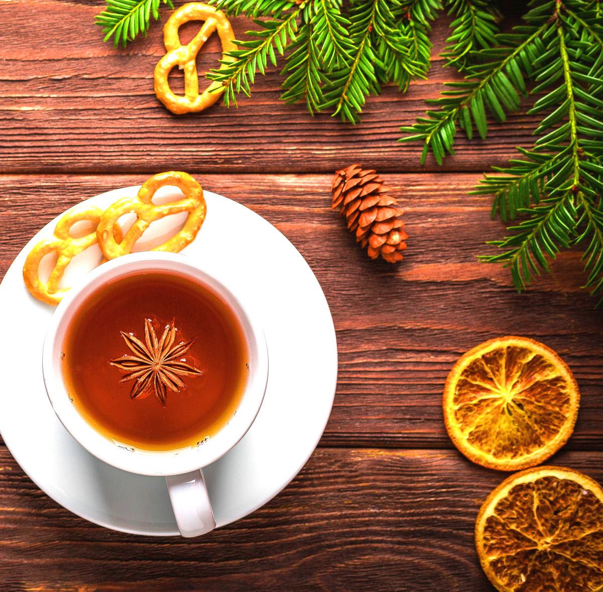 sierysuje.pl herbata z anyżem i pomarańczą
