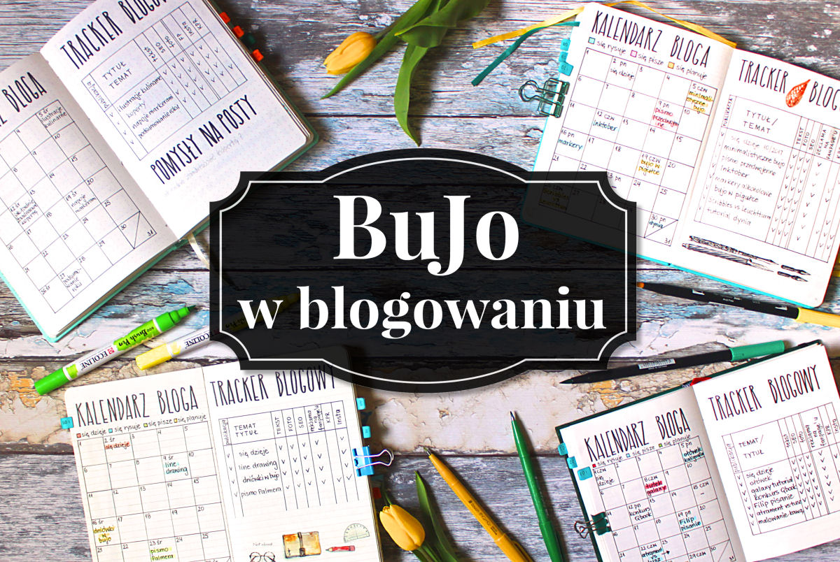 sierysuje.pl bullet journal blogera