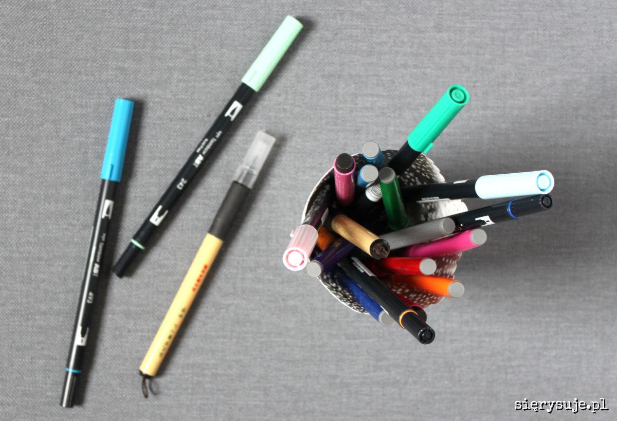 sierysuje.pl przechowywanie brush penów