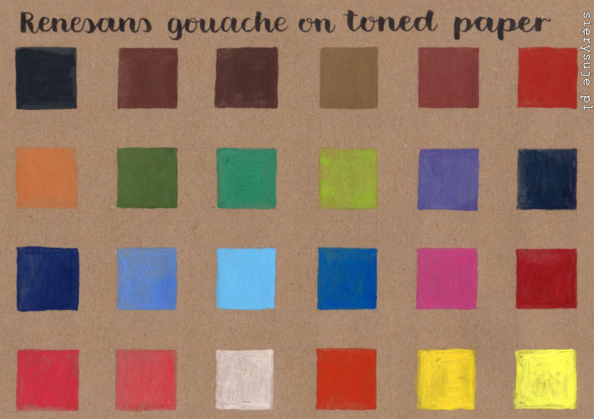 sierysuje.pl gwasze kolory gwaszy