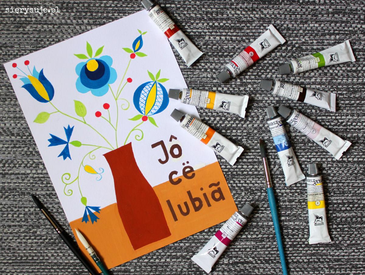 sierysuje.pl gwasze farby malowanie gwaszami