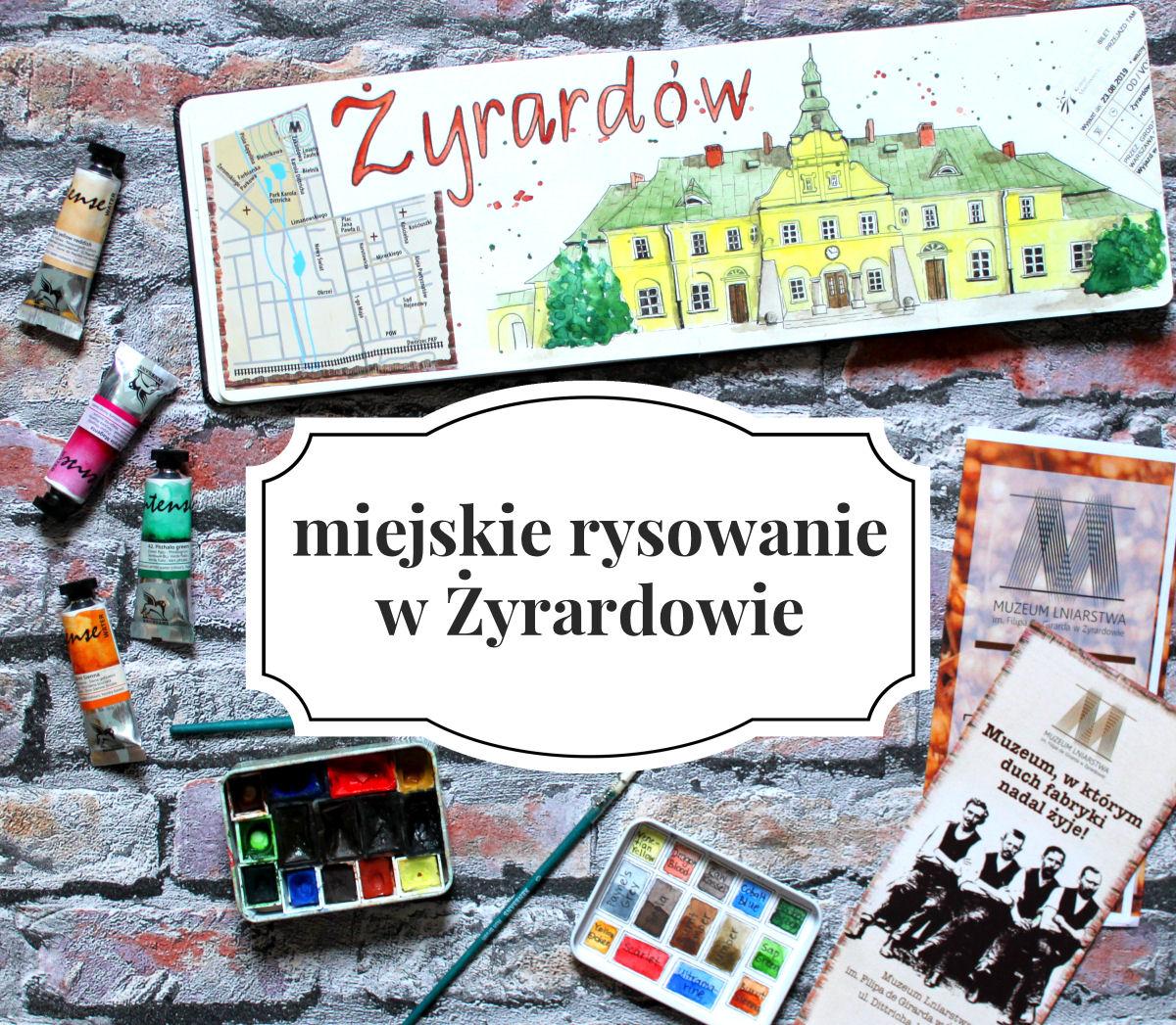 sierysuje.pl urban sketching w żyrardowie