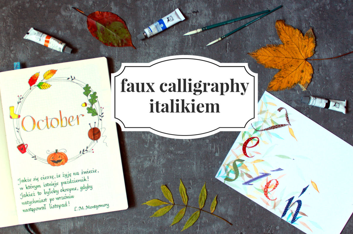 sierysuje.pl oszukana kaligrafia italik italika