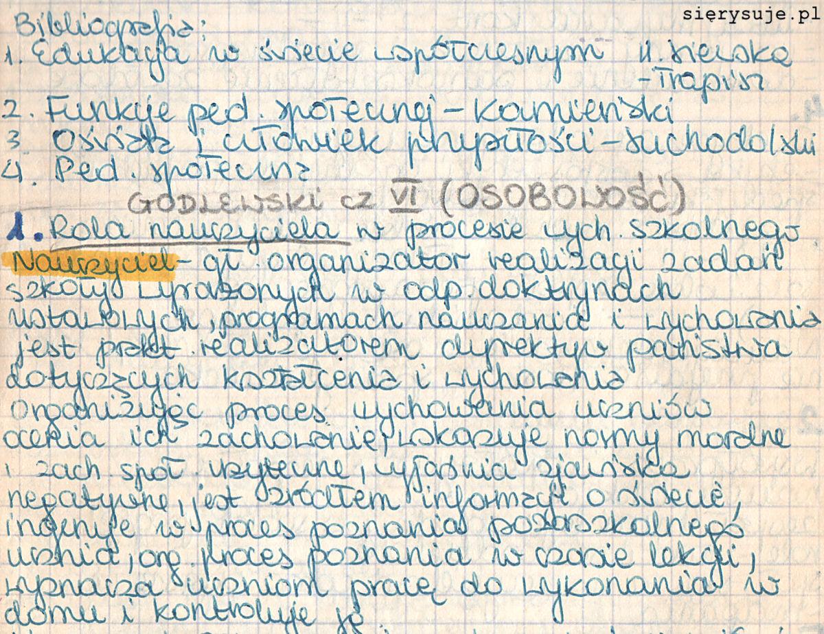 sierysuje.pl jak zmienić charakter pisma