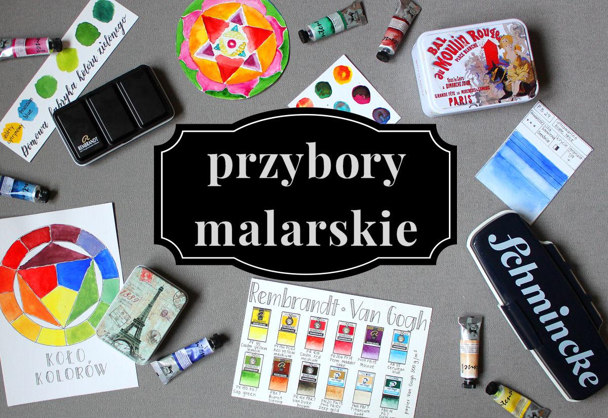 sierysuje.pl przybory do malowania akwarelami