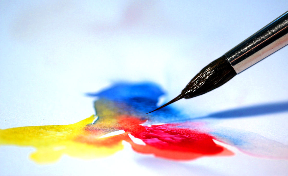 sierysuje.pl kolory akwareli malowanie farbami
