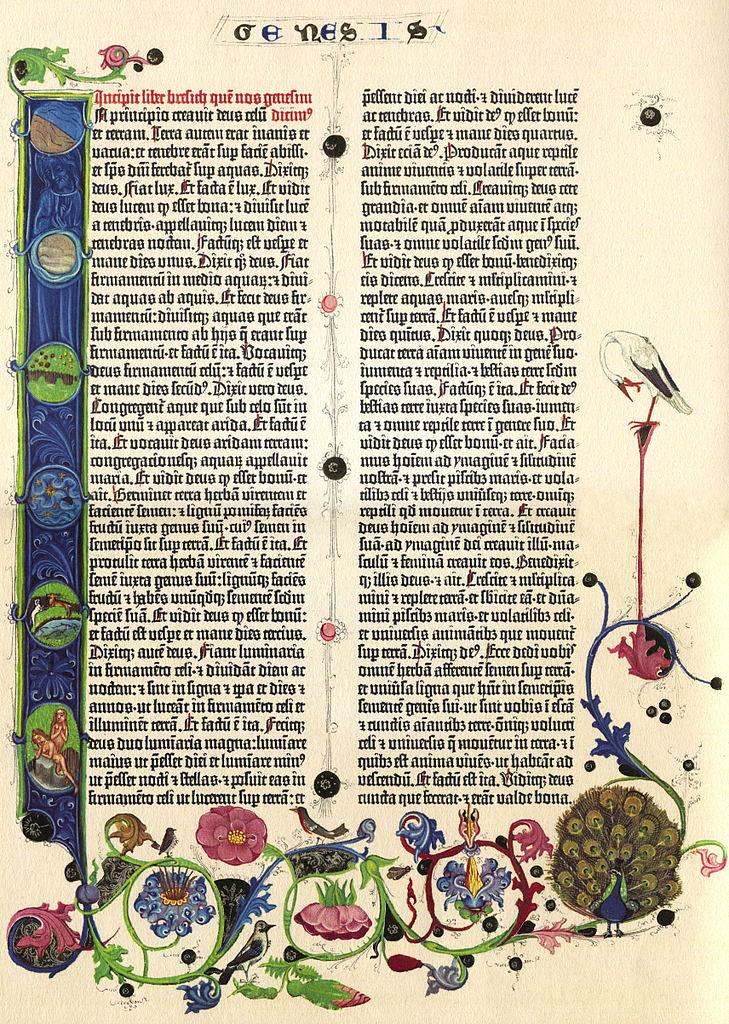 sierysuje.pl druk gutenberg biblia