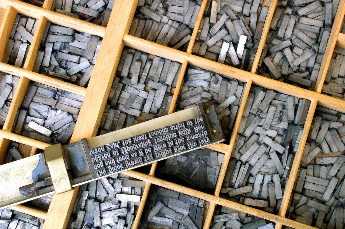 sierysuje.pl kaszta czcionka wierszownik zecer historia druku