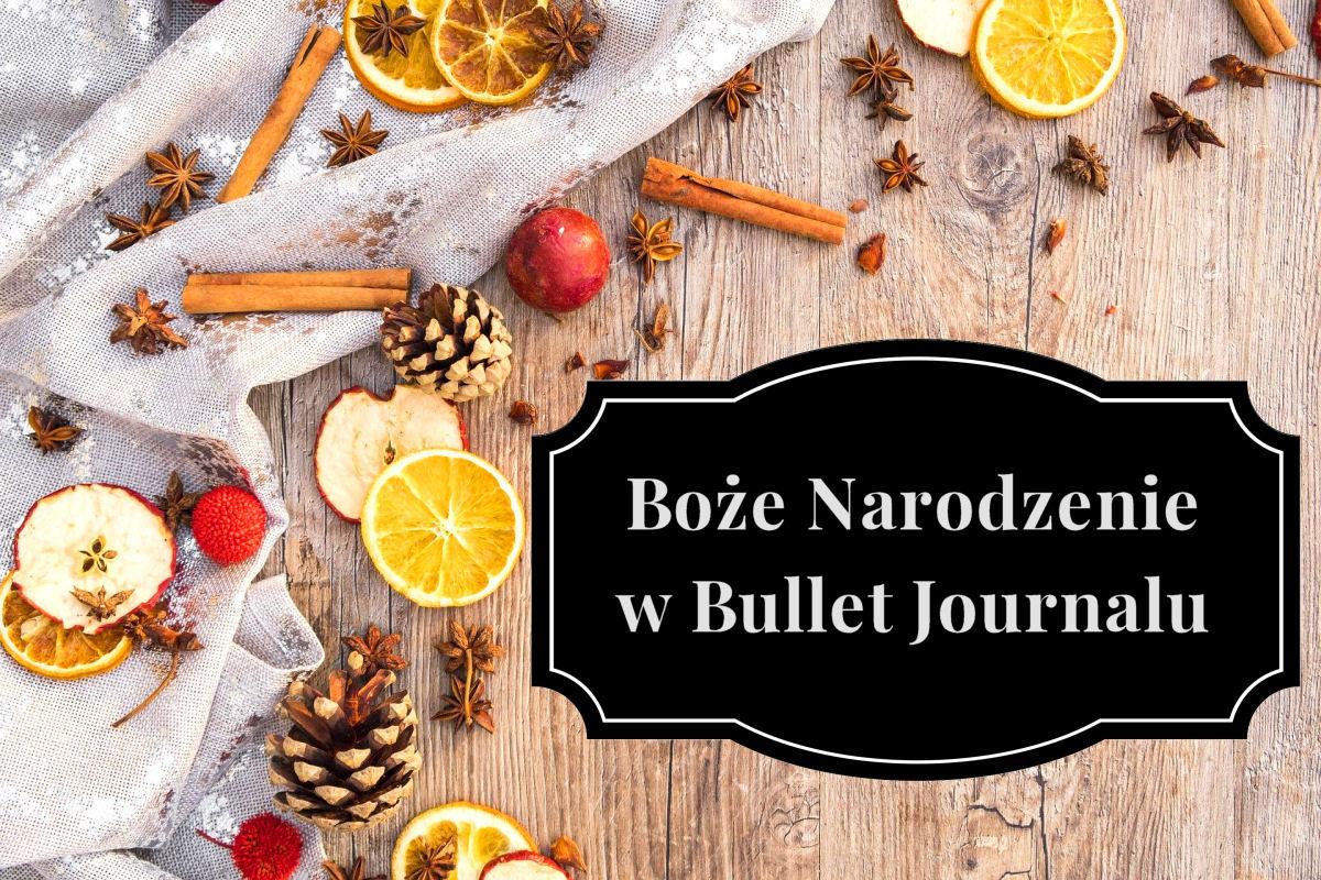 sierysuje.pl Boże Narodzenie święta przygotowania BuJo