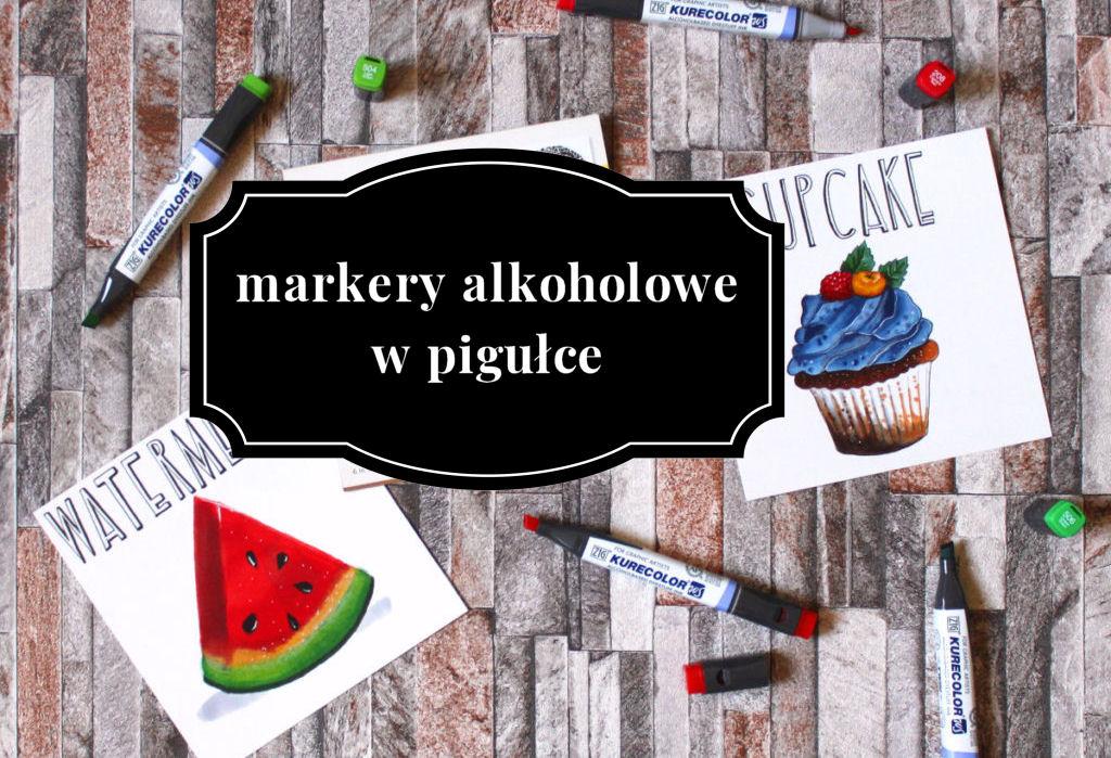 sierysuje.pl rysowanie markerami alkoholowymi