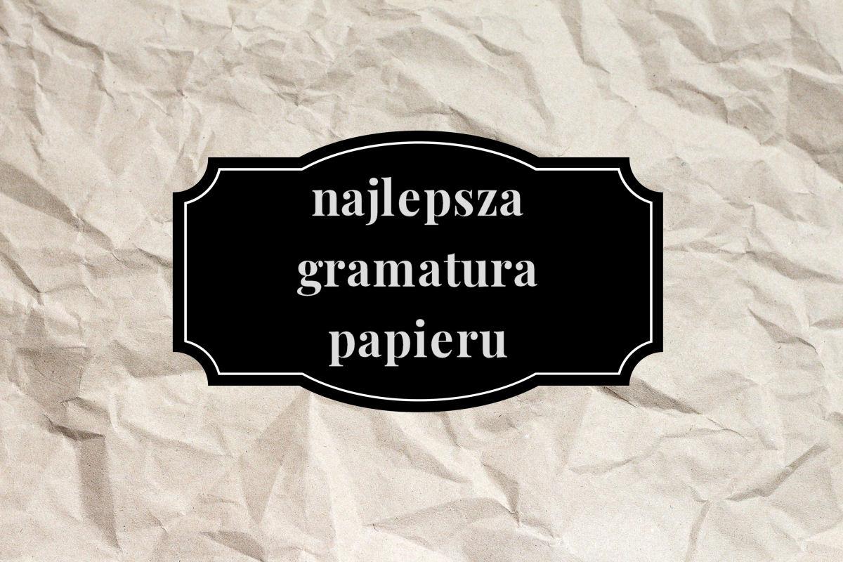 sierysuje.pl gramatura papieru